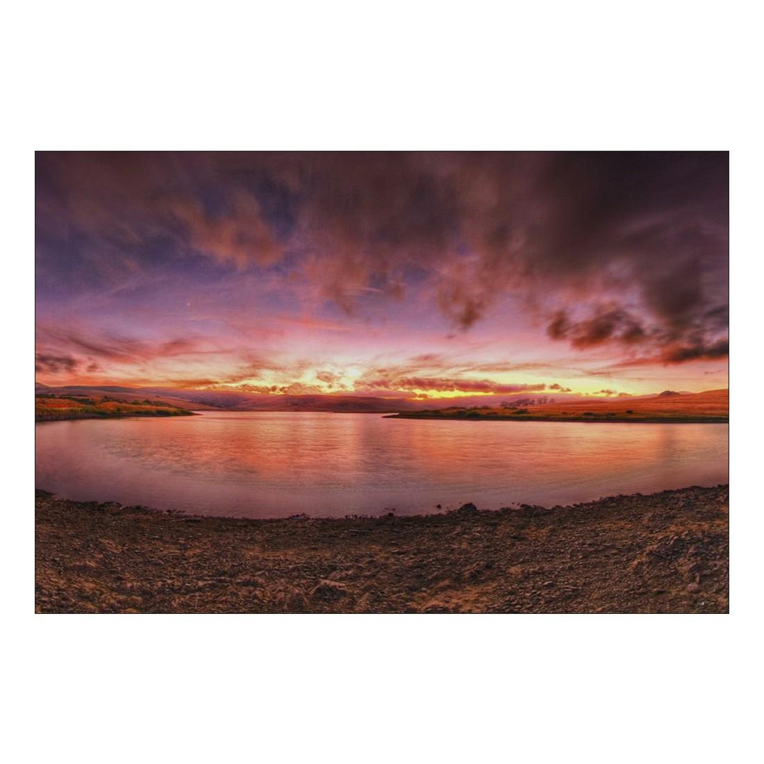 Acrylglasbild Orange Lake – Abmessung 30×20 cm, Gallery of Innovative Art bestellen