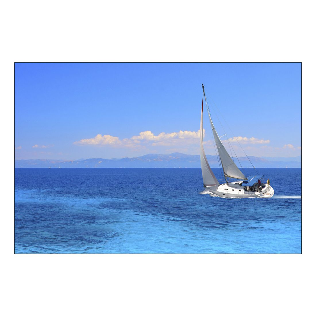 Acrylglasbild Sailboat – Abmessung 90×60 cm, Gallery of Innovative Art jetzt kaufen
