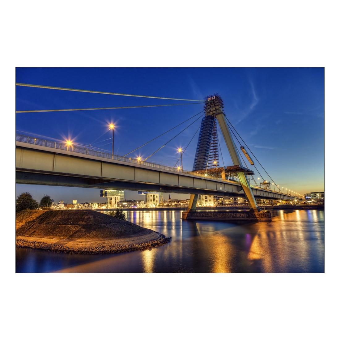 Acrylglasbild Severinsbrücke Köln – Abmessung 30×20 cm, Gallery of Innovative Art günstig online kaufen