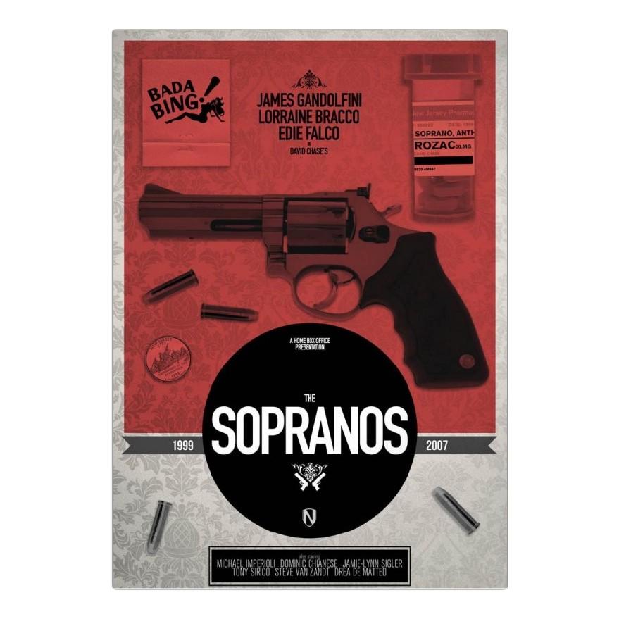 Acrylglasbild Sopranos von Needle Design – Größe: A2 (59 x 42 cm), Juniqe günstig online kaufen