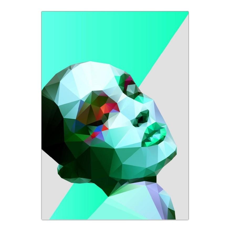 Acrylglasbild Wild for the Night II von Three Of The Possessed – Größe: A3 (42 x 30 cm), Juniqe bestellen