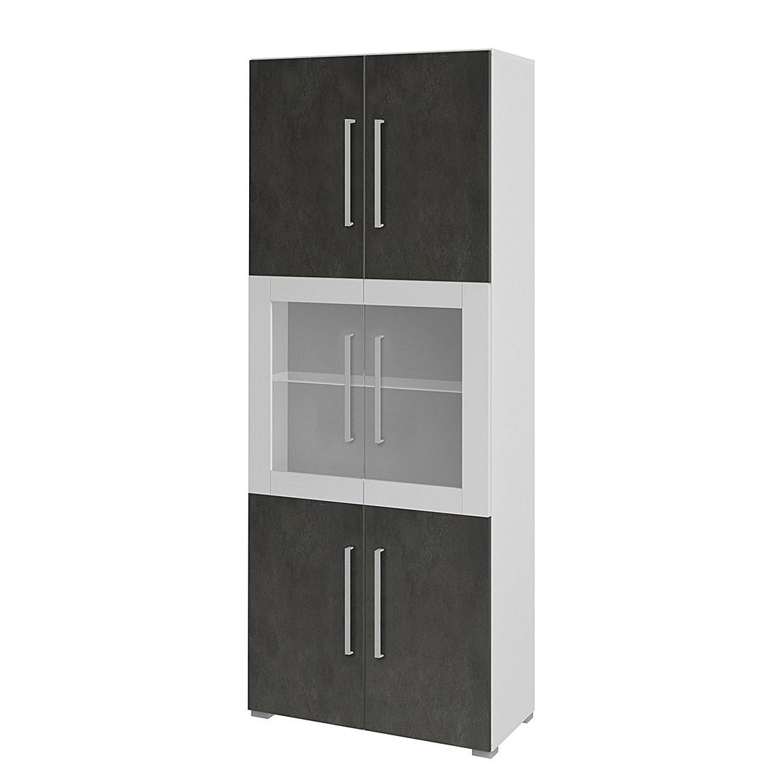Aktenschrank Objekt.Plus II – Weiß/Grau, röhr bestellen