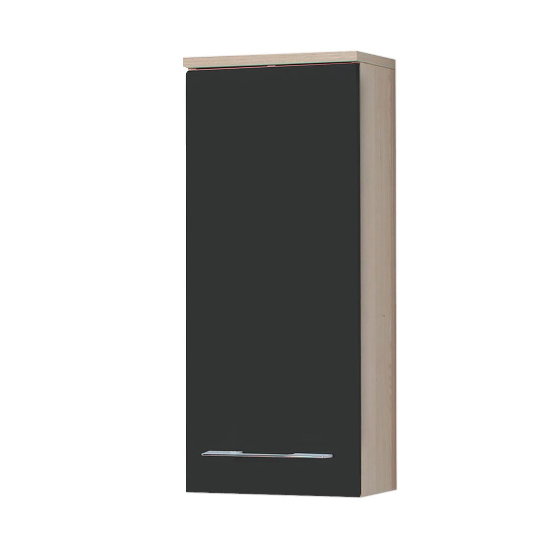 h ngeschrank alessandria anthrazit esche. Black Bedroom Furniture Sets. Home Design Ideas