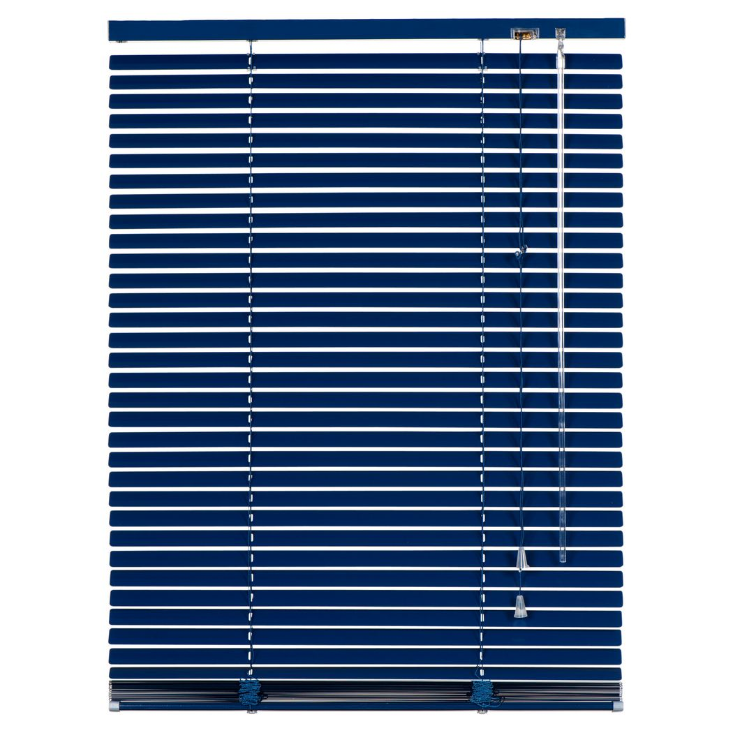 alu jalousie vancouver breite bis 100 cm verdunkelnd blau breite 80 cm h he 175 cm. Black Bedroom Furniture Sets. Home Design Ideas