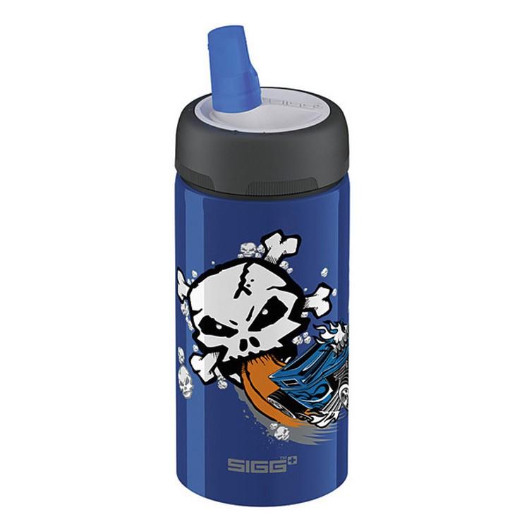 Aluminium Trinkflasche Hot Wheels Bone Shaker – Aluminium Blau, Sigg günstig online kaufen