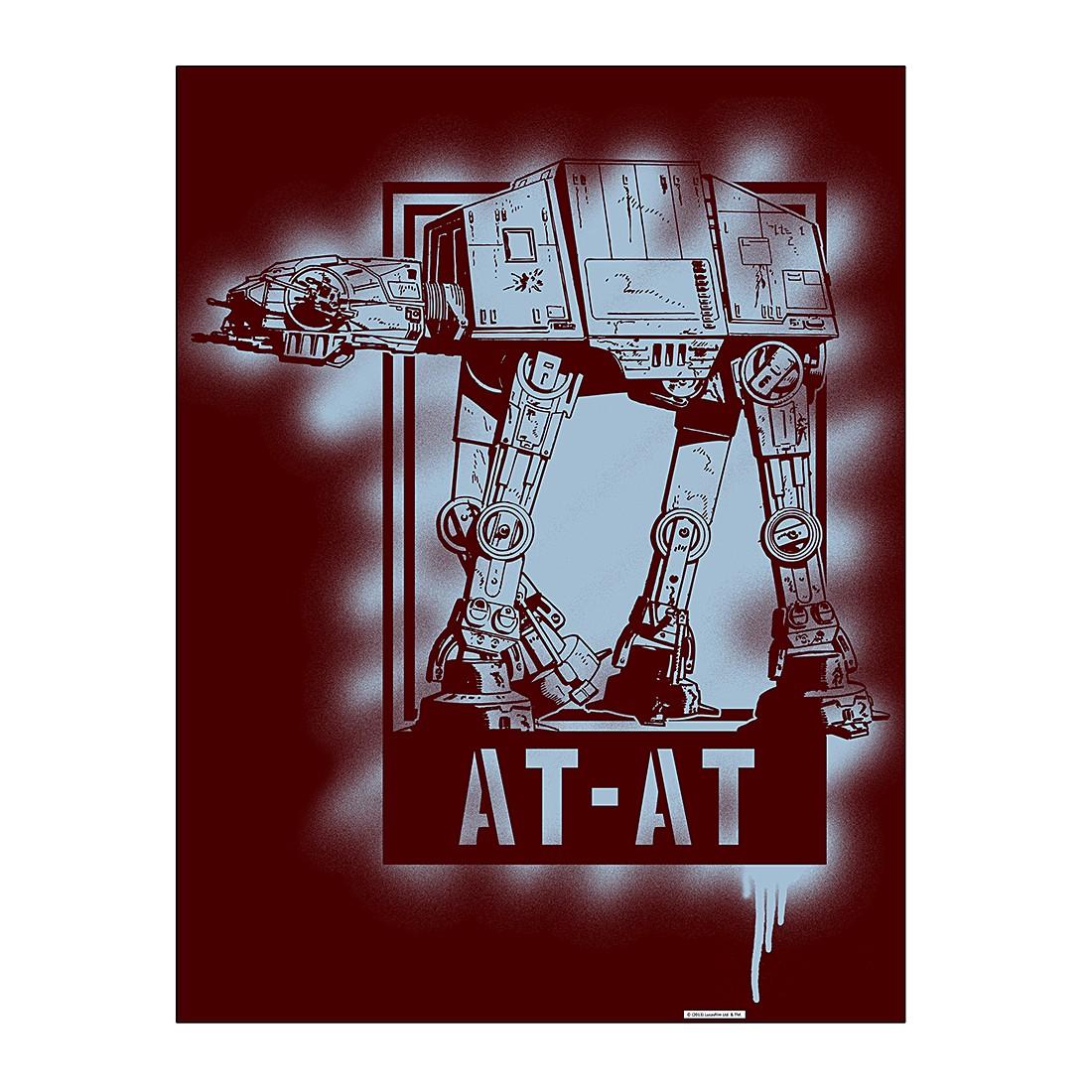 Aluminiumbild AT-AT Artwork – 100 x 75 cm, Gallery of Innovative Art jetzt bestellen
