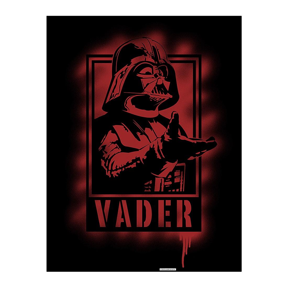 Aluminiumbild Darth Vader I Artwork – 100 x 75 cm, Gallery of Innovative Art günstig online kaufen