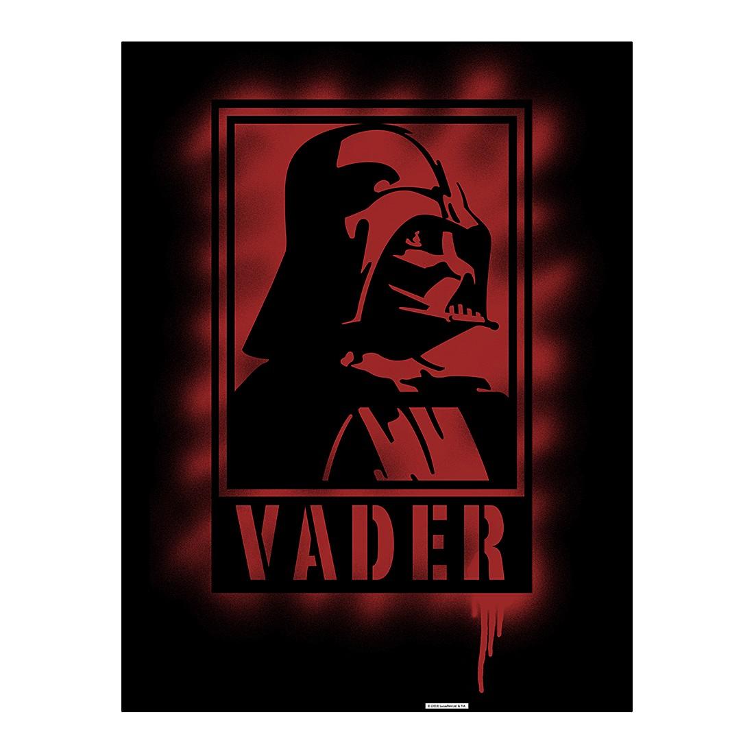 Aluminiumbild Darth Vader II Artwork – 100 x 75 cm, Gallery of Innovative Art online bestellen