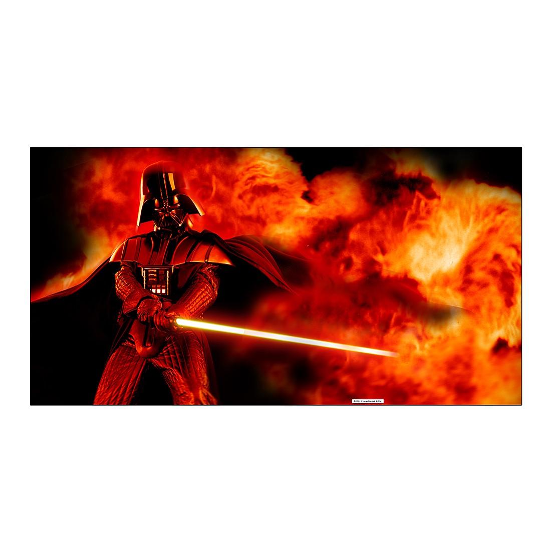 Aluminiumbild Darth Vader Lightsaber Explosion – Abmessung: 100 x 50 cm, Gallery of Innovative Art günstig bestellen