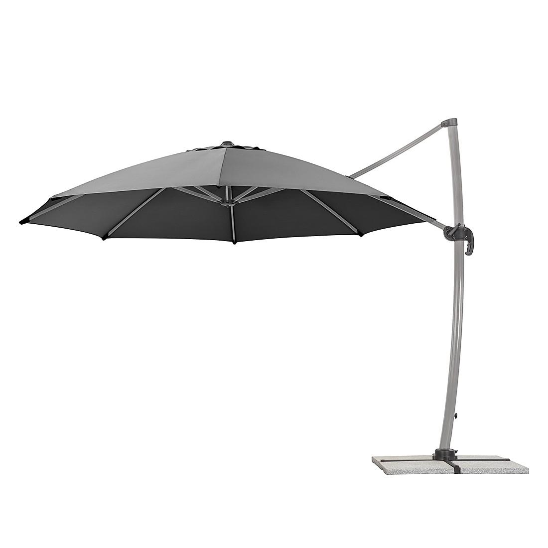 ampelschirm rhodos aluminium polyester anthrazit schneider schirme g nstig. Black Bedroom Furniture Sets. Home Design Ideas