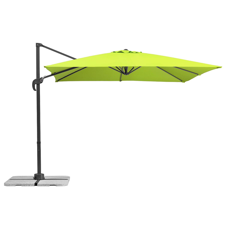 Ampelschirm Rhodos Junior - Webstoff - Hellgrün, Schneider Schirme