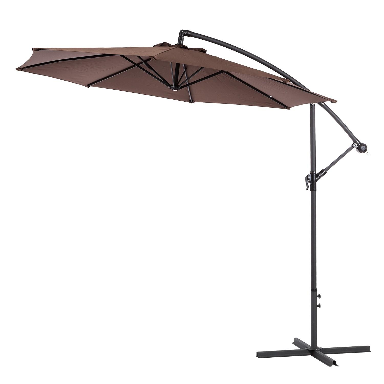 Midland garden parasol structure bois comparer les prix et promo - Parasol prix discount ...