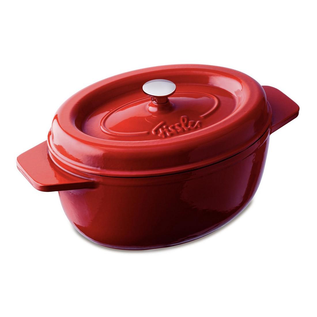 Bräter Arcana – 34 cm, oval, rot, Fissler günstig bestellen