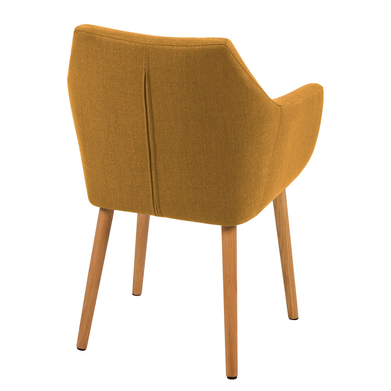 armlehnenstuhl nicholas ii in gelb stuhl esszimmerstuhl. Black Bedroom Furniture Sets. Home Design Ideas