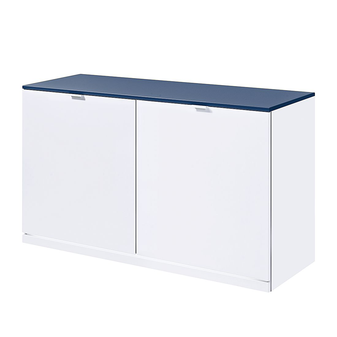 sideboard vip ii wei blau mit led beleuchtung. Black Bedroom Furniture Sets. Home Design Ideas