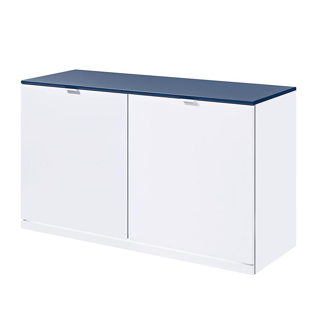 sideboard vip ii wei blau mit led beleuchtung. Black Bedroom Furniture Sets. Home Design Ideas