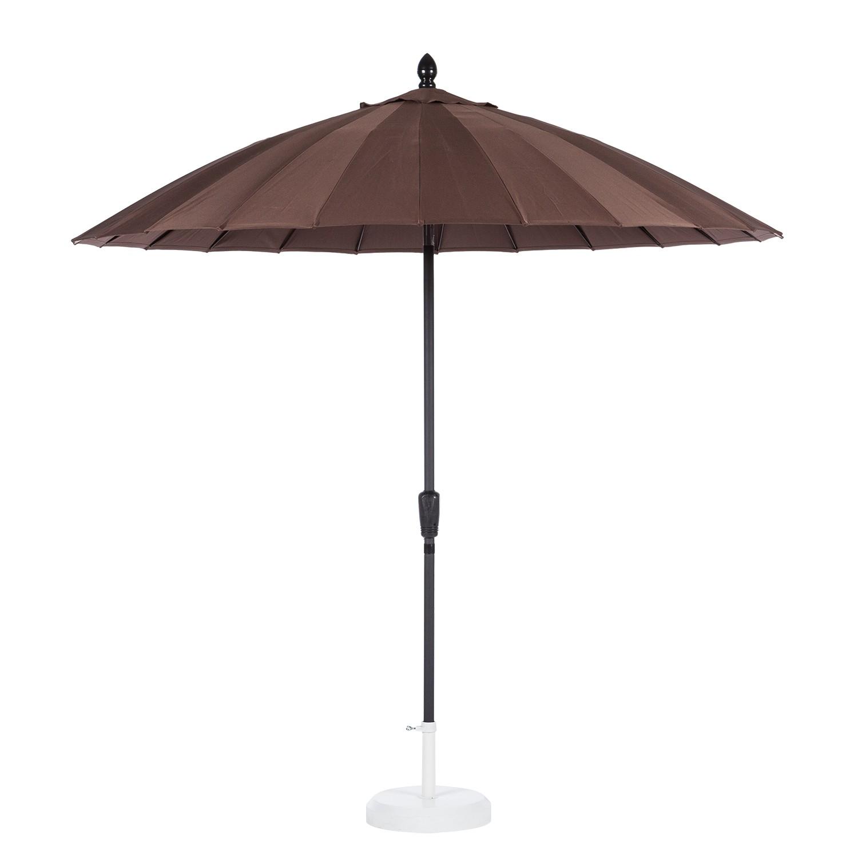 Asia-Sonnenschirm Sombrilla (mit Knickfunktion) - Braun, Garden Guerilla