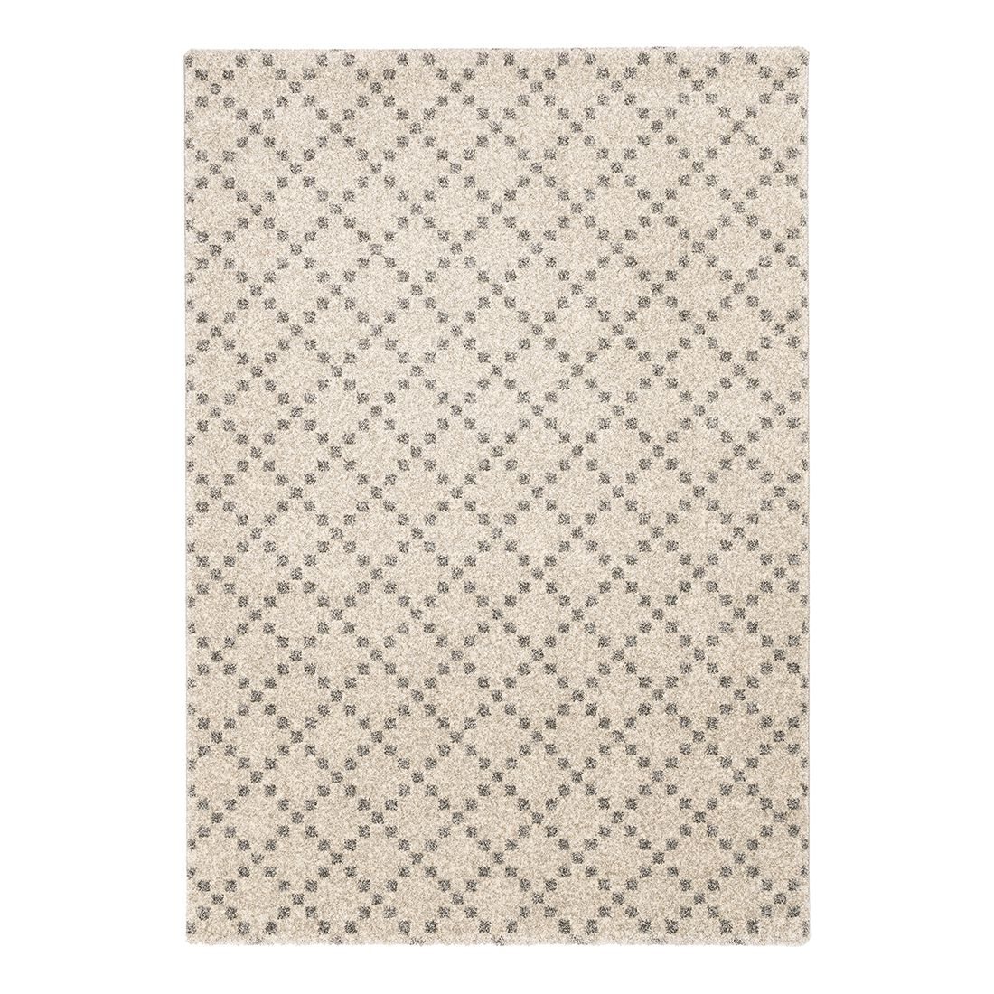 Teppich Davinci (Kästchen) – Creme – 133 x 190 cm, Schöner Wohnen Kollektion günstig kaufen