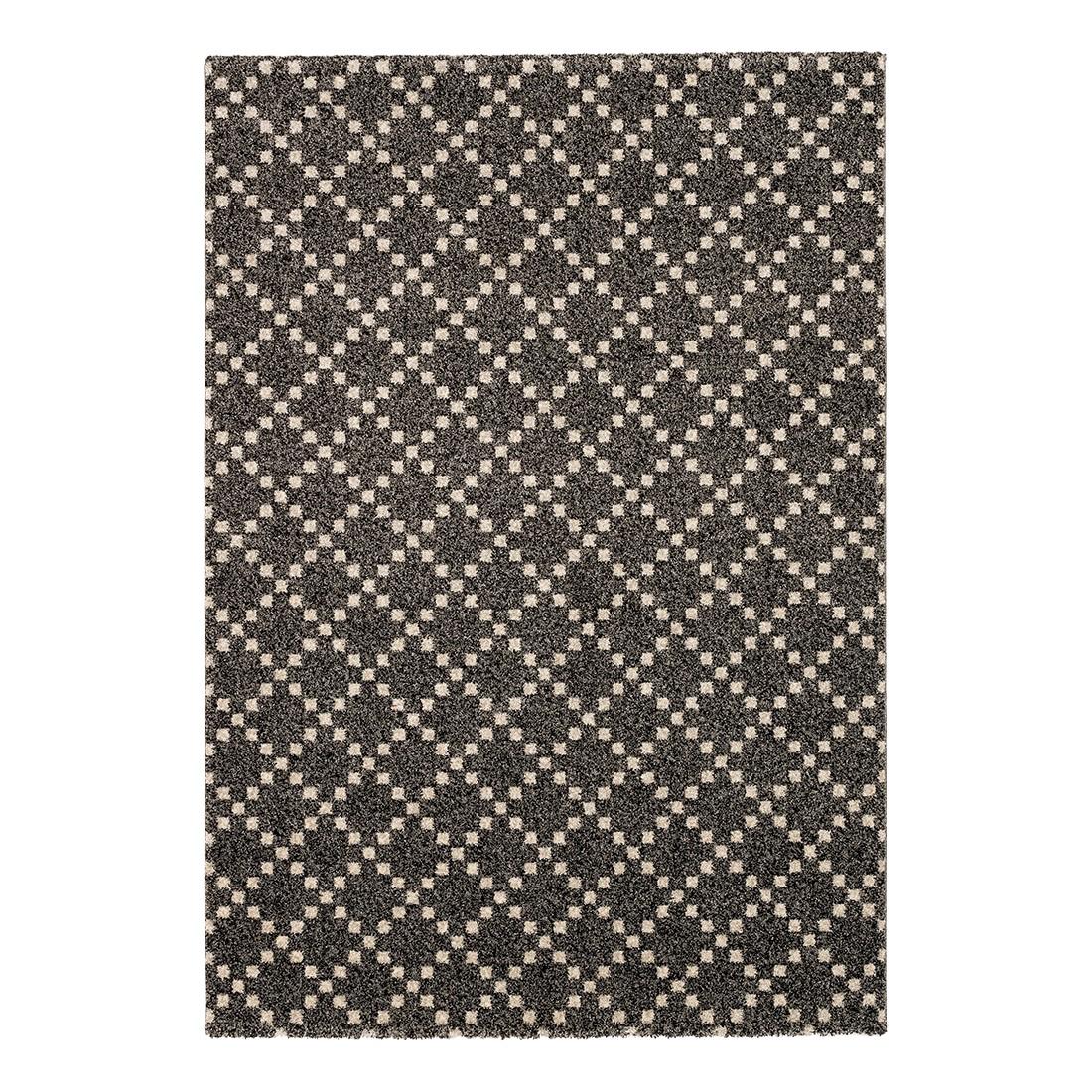 Teppich Davinci (Kästchen) – Schwarz – 160 x 230 cm, Schöner Wohnen Kollektion günstig kaufen