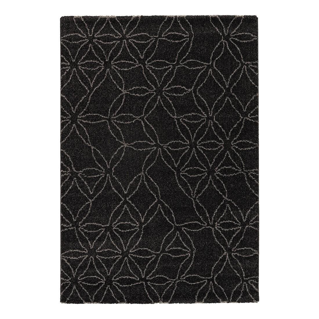 Teppich Davinci (Blume) – Anthrazit – 160 x 230 cm, Schöner Wohnen Kollektion kaufen