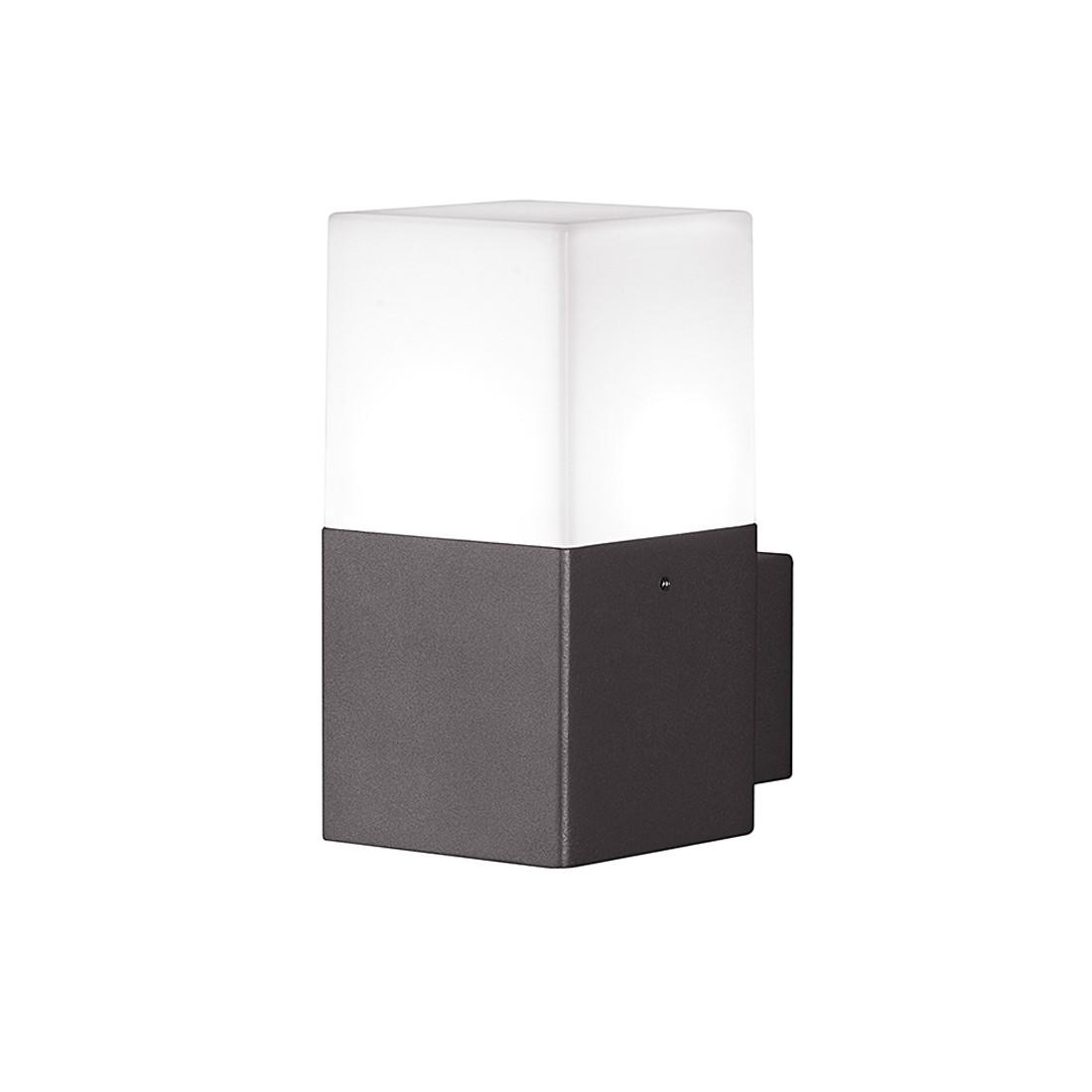 EEK A++, LED-Außenleuchte Hudson 1-flammig - Aluminium Kunststoff - Silber, Trio