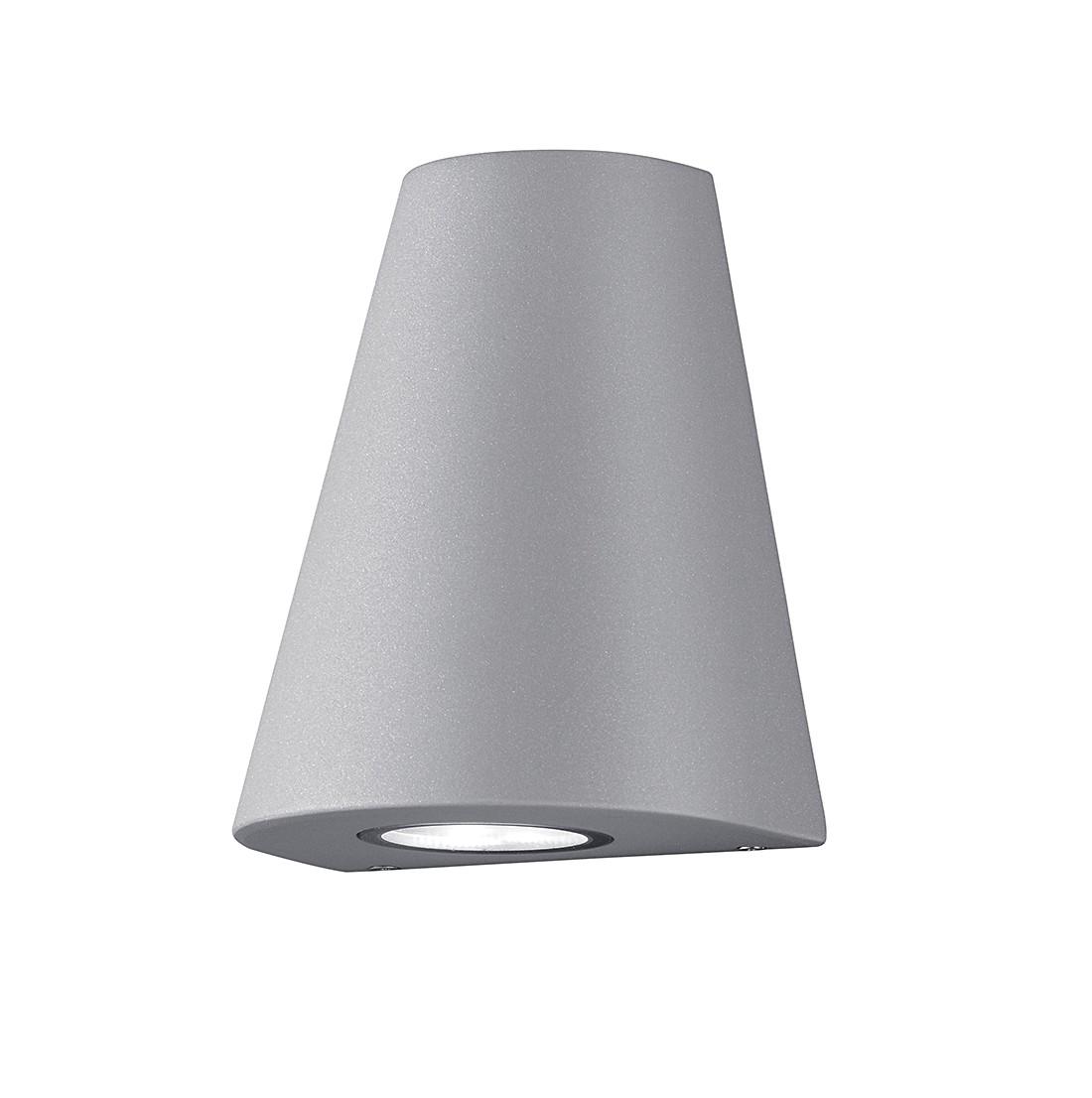 EEK A+, LED-Außenleuchte Niagara 1-flammig - Aluminium Kunststoff - Silber, Trio
