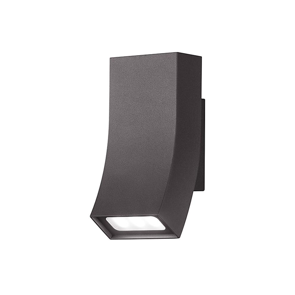 EEK A+, LED-Außenleuchte Oka 2-flammig - Aluminium Kunststoff - Silber, Trio