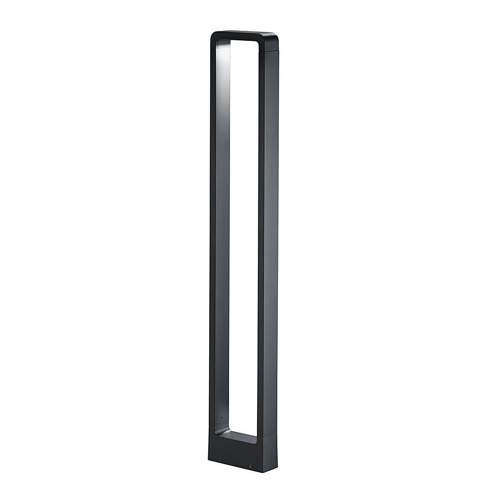 EEK A+, LED-Außenleuchte Reno 1-flammig - Aluminium Kunststoff - Silber, Trio