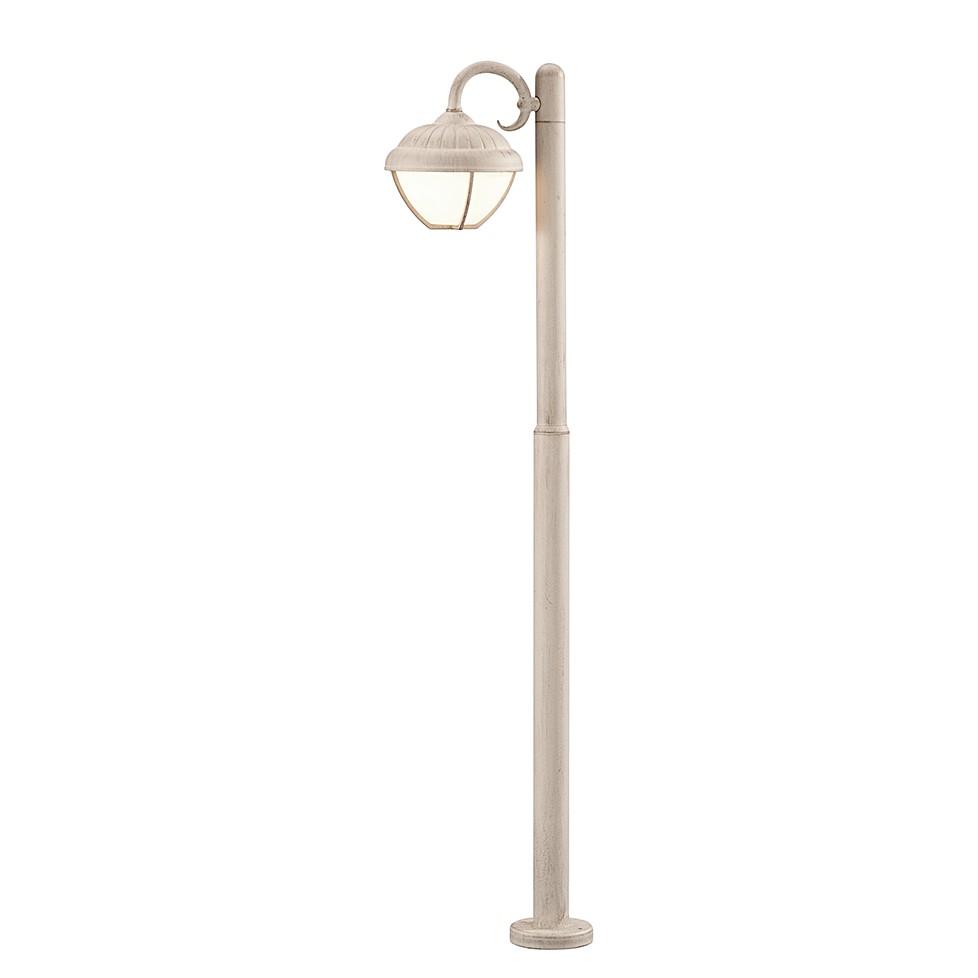 LED-Außenleuchte Verdon 1-flammig ● Aluminium Kunststoff ● Silber- Trio A+