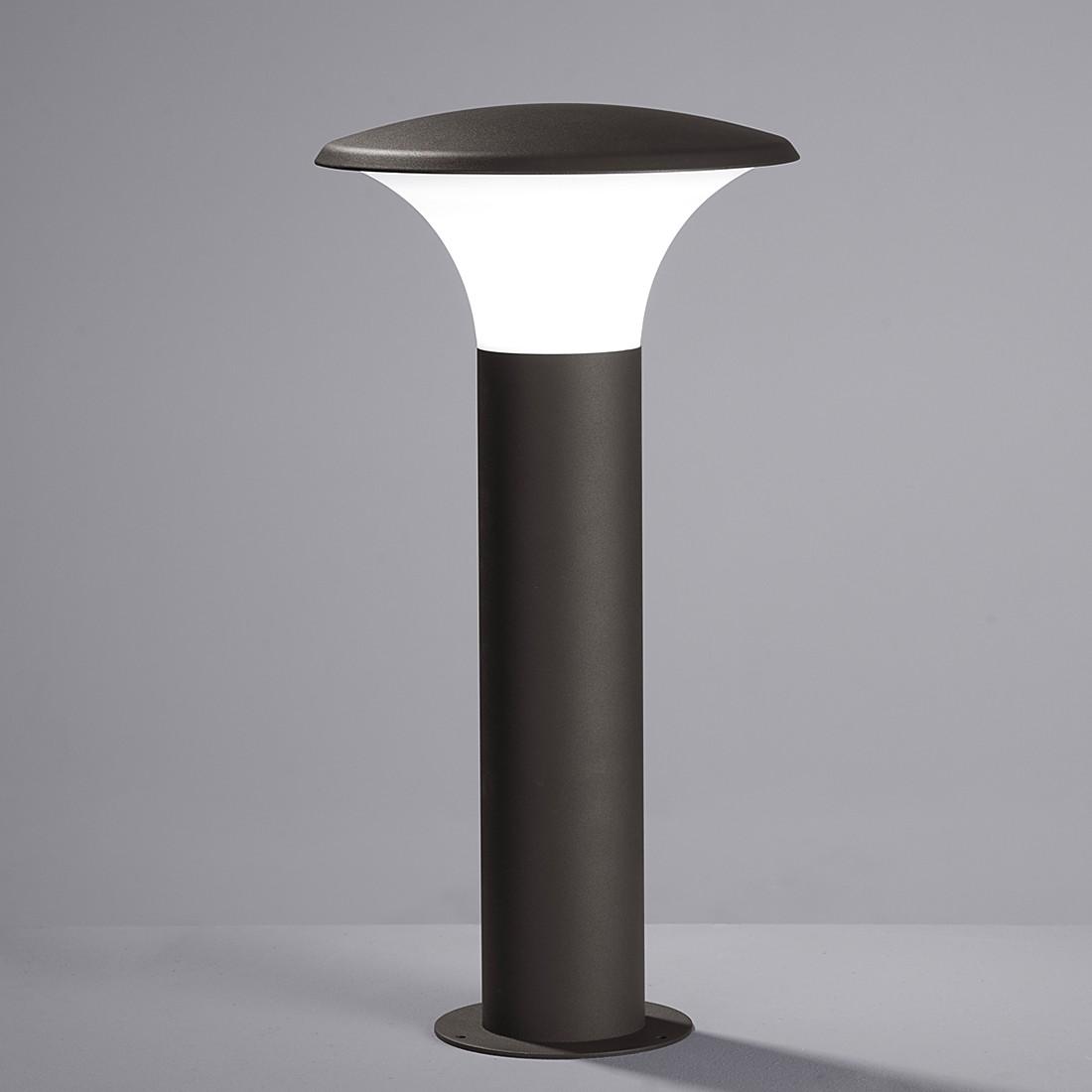 LED-Außenleuchte Kongo 1-flammig ● Aluminium Kunststoff ● Silber- Trio A++