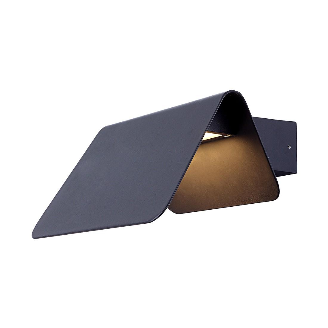 Außenleuchte Grade ● Grau ● Aluminium- Globo Lighting A+
