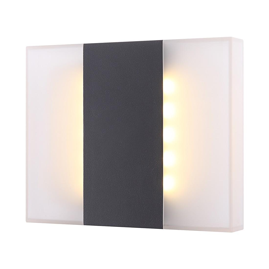 LED-Außenleuchte Moonlight II by Globo ● Aluminium/Kunststoff ● Schwarz- Globo Lighting A+