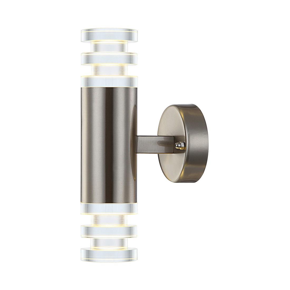 LED Außenleuchte Edelstahl IV By Globo ○ Stahl/Glas ○ Silber  Globo  Lighting A+ Günstig