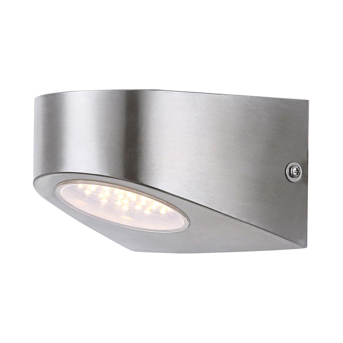 LED-Außenleuchte Edelstahl III by Globo ● Stahl/Kunststoff ● Silber- Globo Lighting A+
