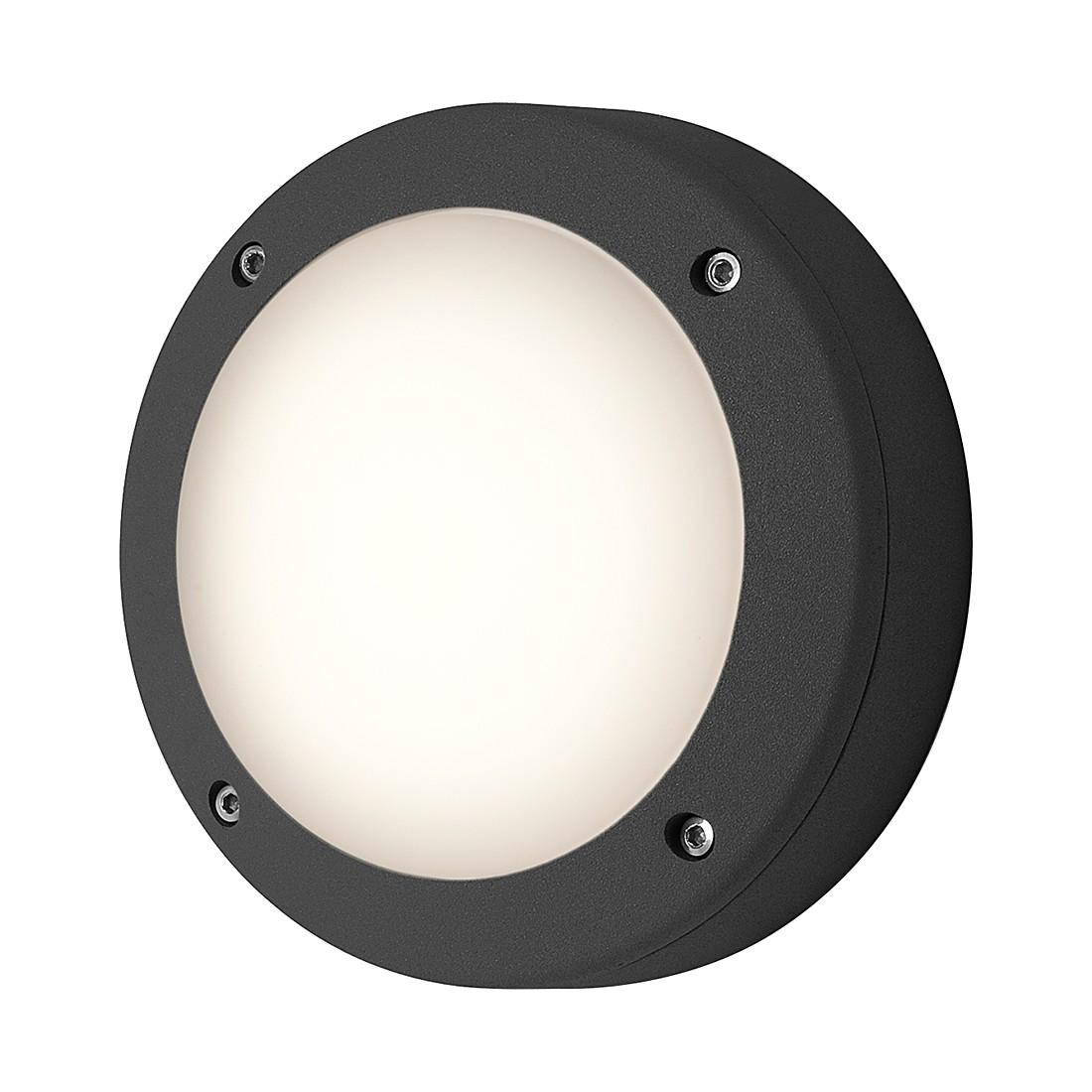EEK C, Außenleuchte Arta Round – Silber – 1-flammig, Astro günstig