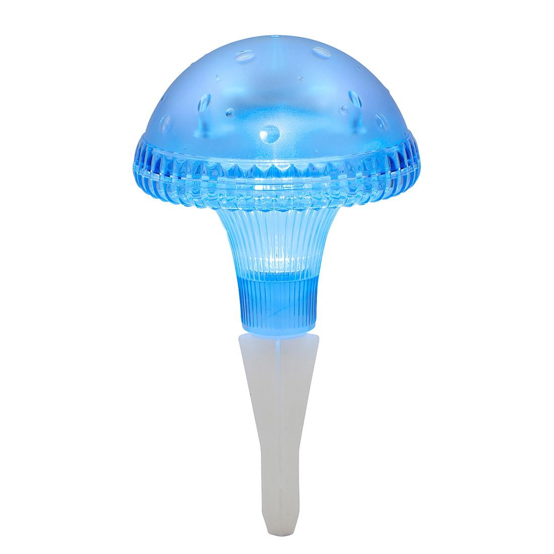 LED-Außenleuchte Assisi Pilz ● Kunststoff ● 1-flammig ● Blau- Konstsmide A+