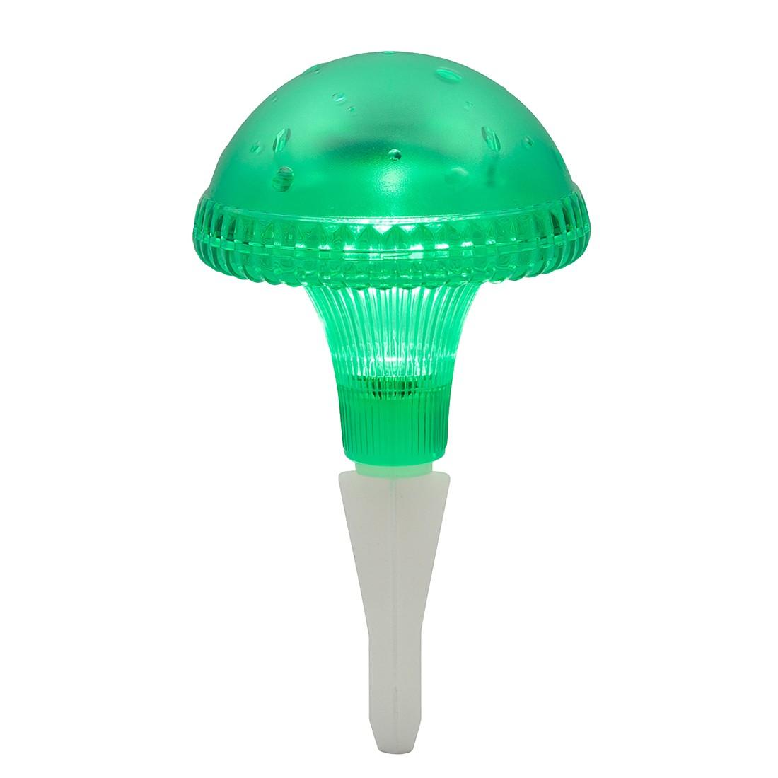 LED-Außenleuchte Assisi Pilz ● Kunststoff ● 1-flammig ● Grün- Konstsmide A+