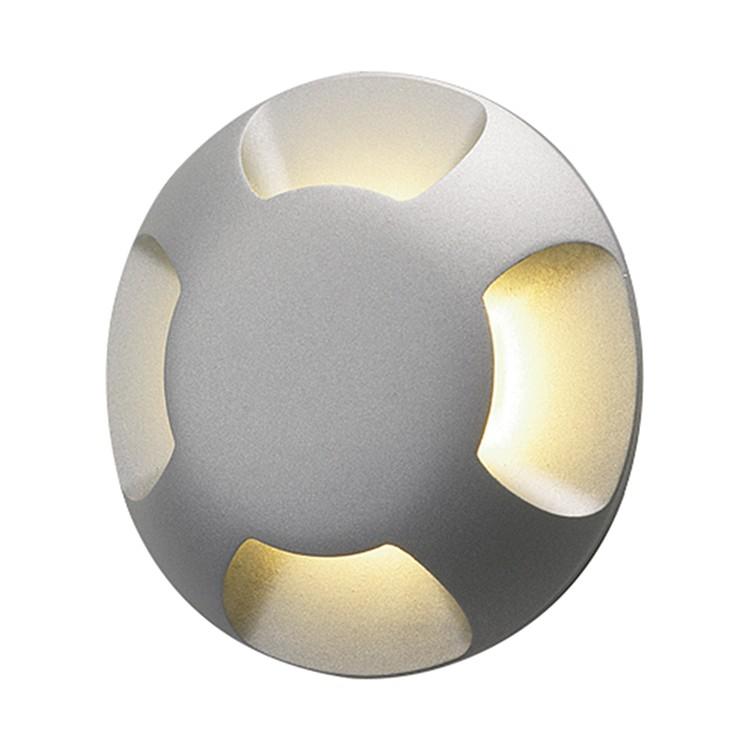 EEK A+, Außenleuchte Beam 4 – Silber – 1-flammig, Astro günstig