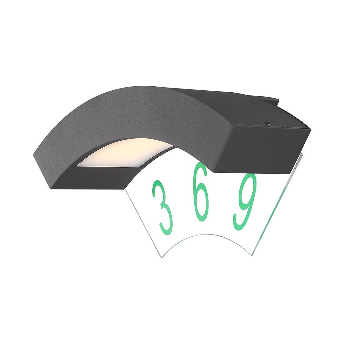 LED-Außenleuchte Bender by Globo ● Aluminium/Kunststoff ● Grau- Globo Lighting A+