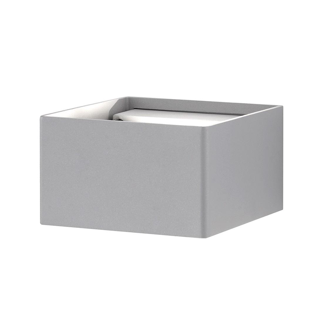 LED-Außenleuchte Bibow ● Aluminium ● Grau- FLI Leuchten A+