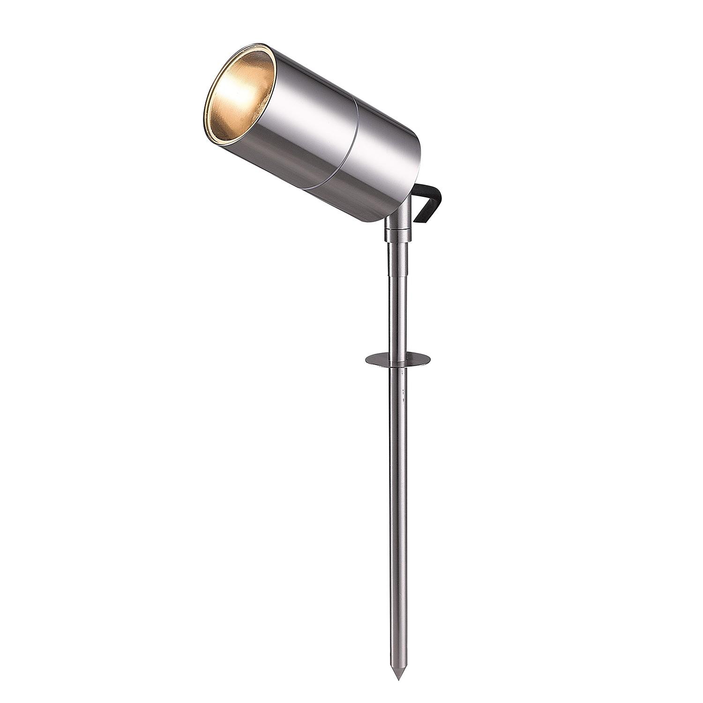 EEK A+, Außenleuchte Bronx 1-flammig - Silber Metall, Wofi