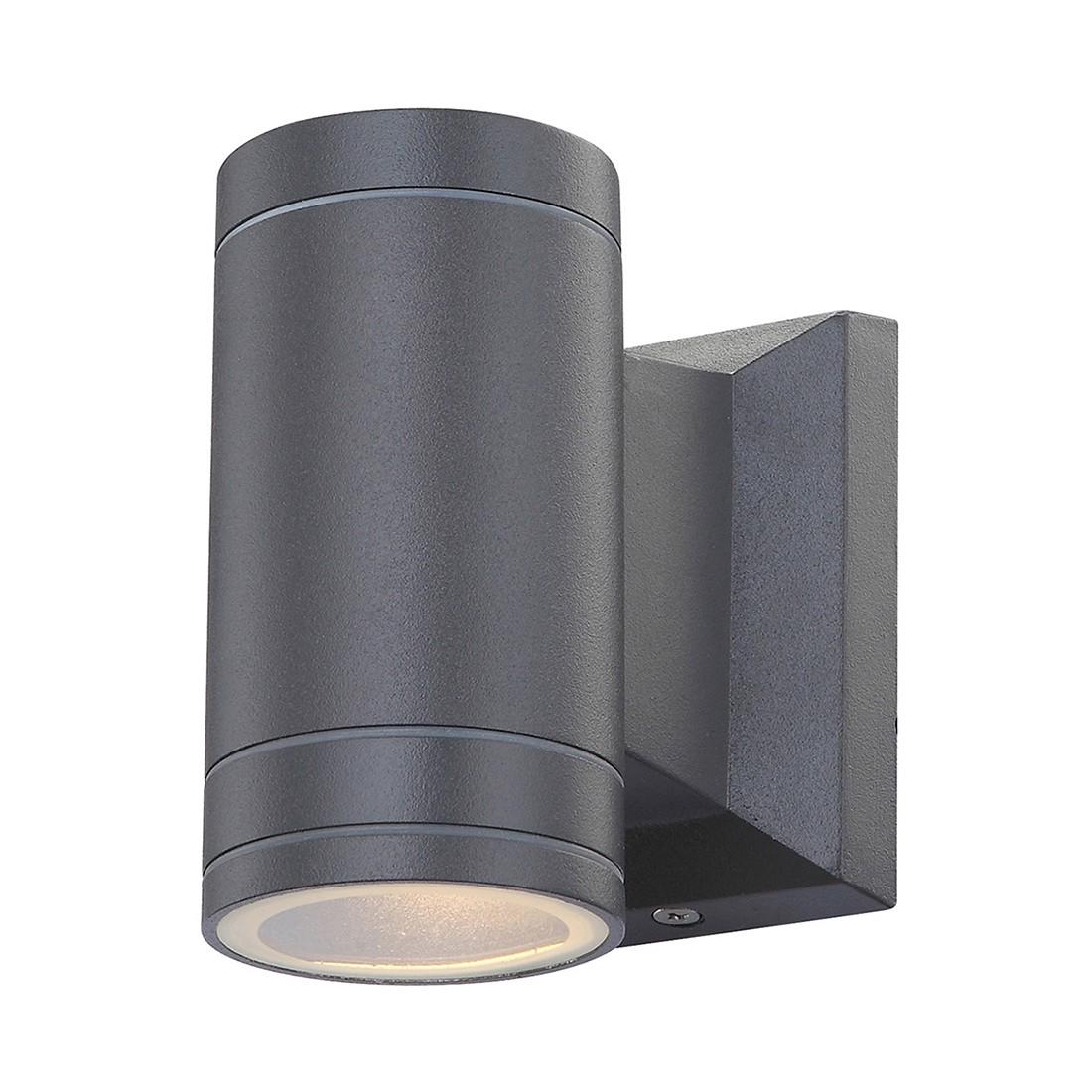 Außenleuchte Gantar by Globo ● Aluminium/Glas ● Grau ● 1-flammig- Globo Lighting A++