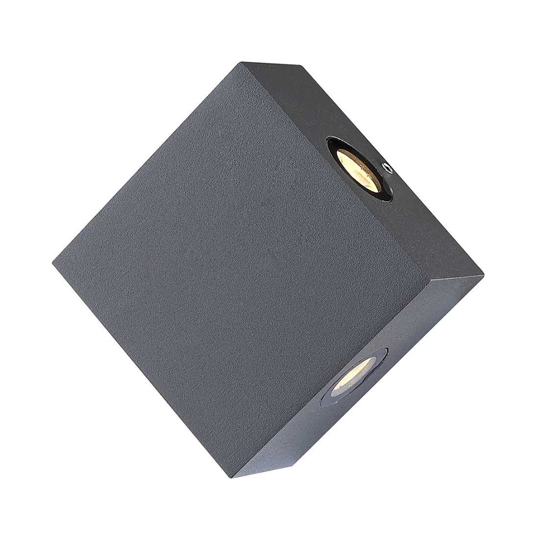 Außenleuchte Isono II ● Grau ● Aluminium Druckguß- Globo Lighting A+