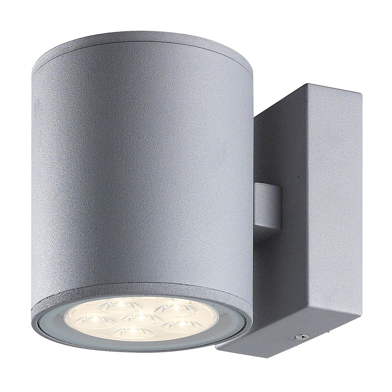 Außenleuchte Morris ● Grau Kunststoff- Wofi A+