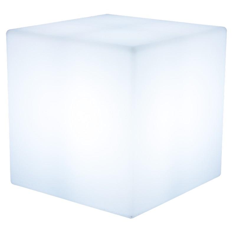 Außenleuchte Shining Cube (Weiß) – Außenleuchte Shining Cube 43 cm (Weiß), 8 seasons design online kaufen