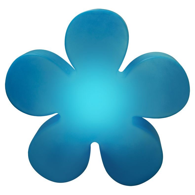 Außenleuchte Shining Flower (Blau) – Außenleuchte Shining Flower Ø 40 cm (Blau), 8 seasons design günstig online kaufen