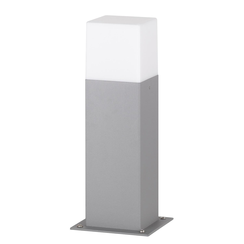 EEK A++, Außenleuchte Sutter 1-flammig - Grau Kunststoff, Wofi