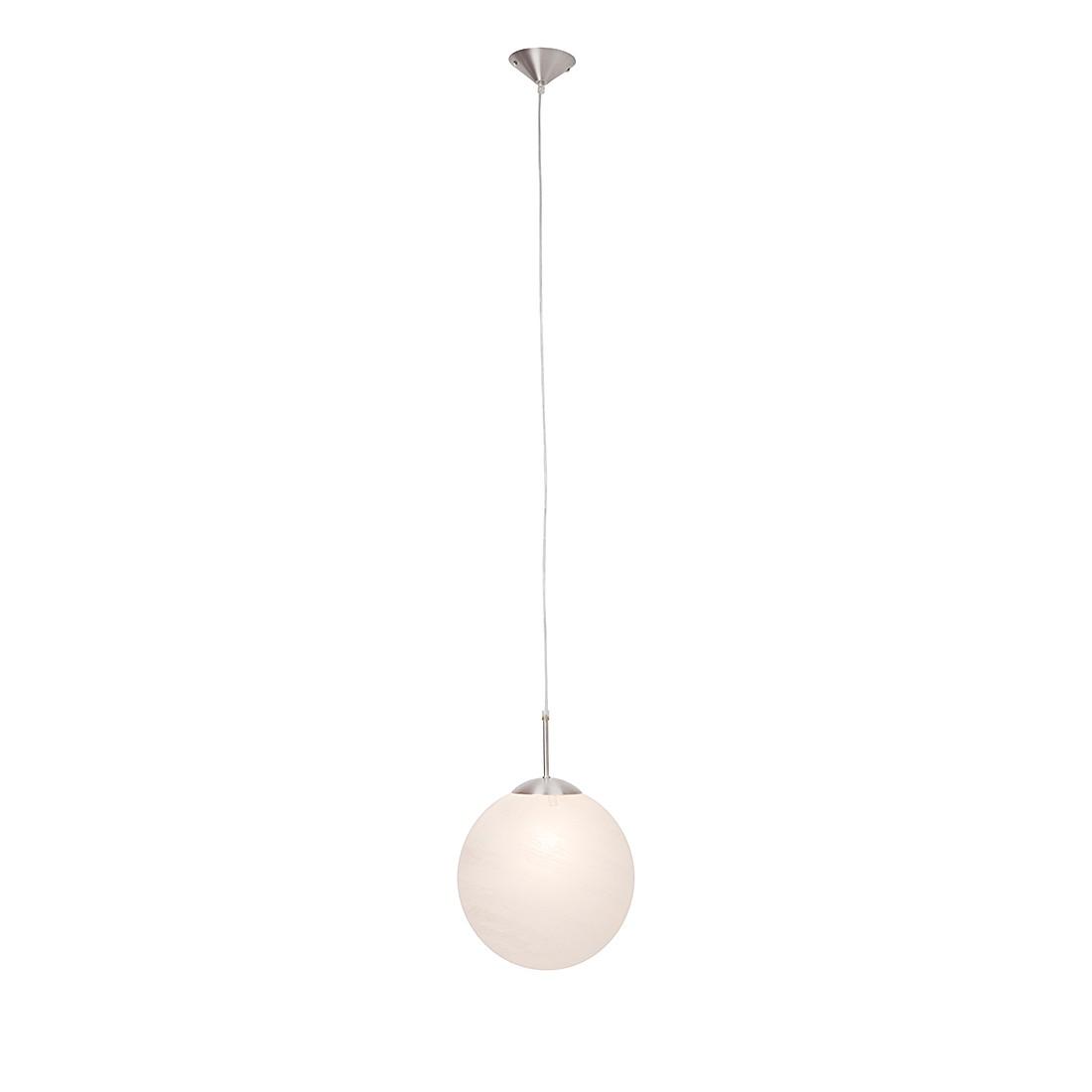 EEK A++, Pendelleuchten Sally – Aluminium/Glas/Metall – Weiß – 1-flammig, Brilliant kaufen