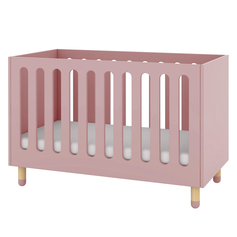 Babybett Flexa Play – Esche teilmassiv – Rosa, Flexa günstig