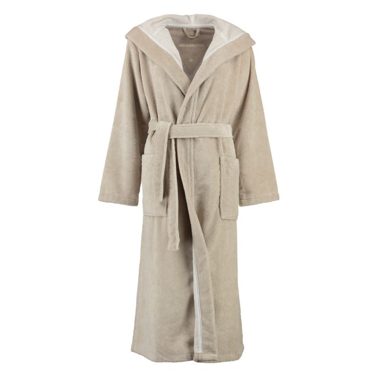 Bademäntel Damen Multifaser Geena – Polyester/Baumwolle/Viskose – Sand – XS, Morgenstern jetzt kaufen